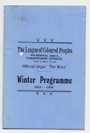 League Winter Programme width=
