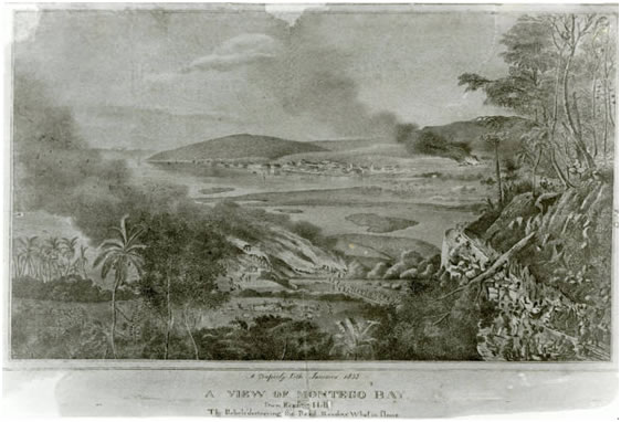 the jamaica christmas rebellion of 1831 After the christmas rebellion or baptist war of 1831, a massive slave rebellion of an estimated 60,000 slaves across the island, planters suspected that burchell and other baptist missionaries had encouraged it burchell had been away from the island during the events, but was investigated when he returned.