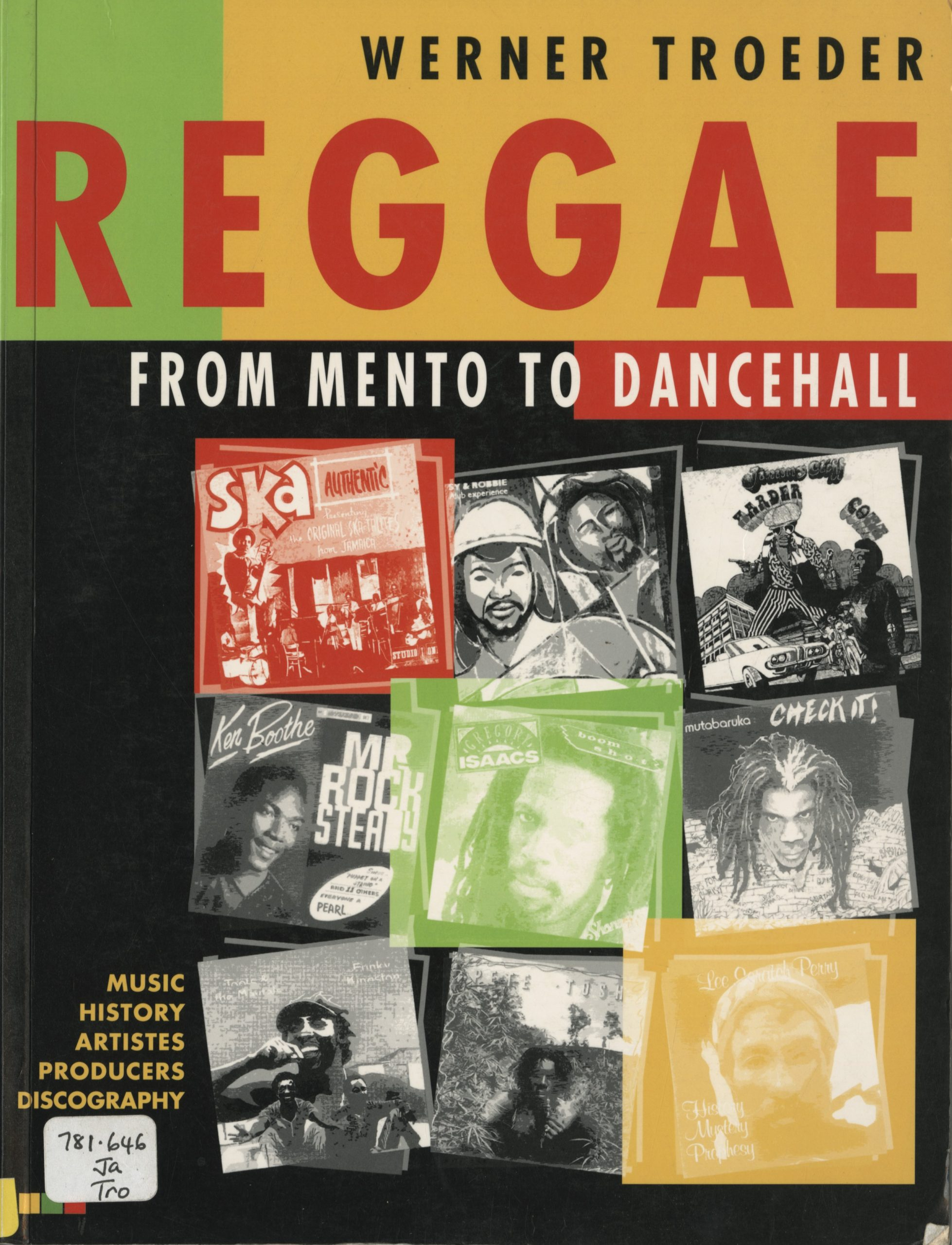 Reggae from Mento to Dancehall width=